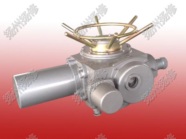 扬修电力阀门电动执行器DZW120-WK一体化结构