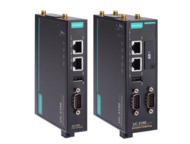 Moxa UC-3100 系列支持无线功能的 ARM 架构工业计算机