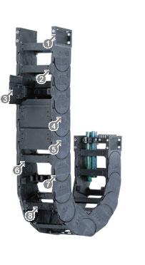 拖链E4/轻型拖链-14550系列