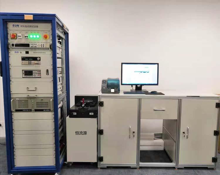 整车控制器VCU生产线终端(EOL)测试系统