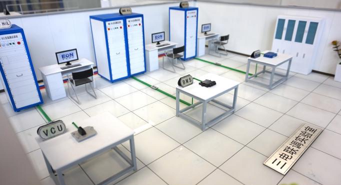 三电联调-新能源汽车VCU、BMS、MCU仿真测试系统实验室