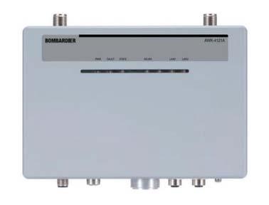 MOXA AWK-4121A 系列 轨道交通车载 802.11n IP68 无线 AP/client