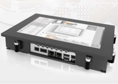 集控制器与多点触控HMI于一体