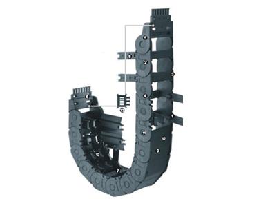 易格斯E2/000 中型拖链(半封闭)-2650系列