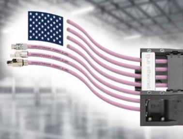 用于工业4.0的高柔性以太网电缆,满足UL 600V认证要求