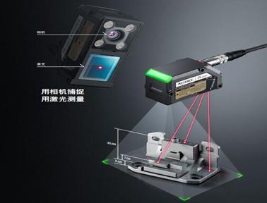 基恩士多点式激光传感器IX 系列