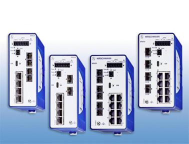 支持TSN技术的赫思曼BOBCAT系列交换机