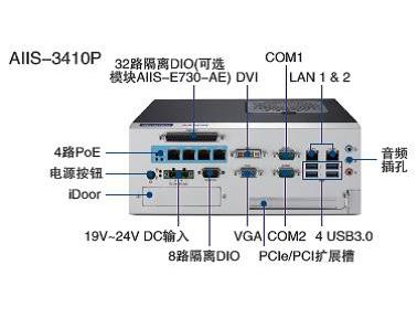 研华视觉控制器AIIS-3410P