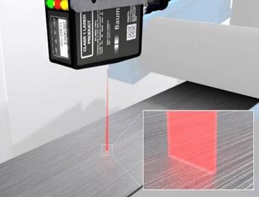 OM70线激光测距传感器:轻松检测带纹理表面,确保精确可靠的在线测量