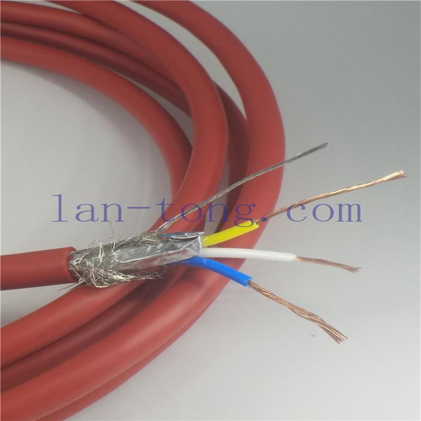 机器人cclink通讯电缆,PLC系统cclink通信电缆,日标4芯CC-LINK