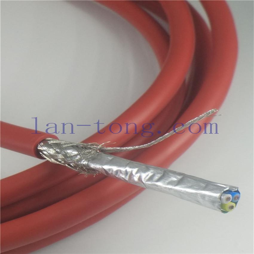 PVC红色护套CC-LINK专用电缆颜色发泡芯线白色蓝色黄色阻抗110ohm