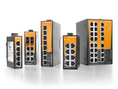 魏德米勒交换机:用于工业通信应用的Eco Line非管理型交换机