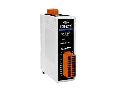 泓格高速两通道增量型编码器新产品上市: ECAT-2092TEtherCAT 从站: 高速两通道增量型编码器