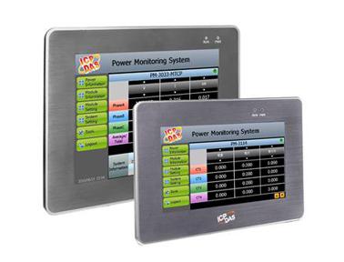 泓格触控屏幕型电表管理集中器新产品上市: PMD-2206 & PMD-4206