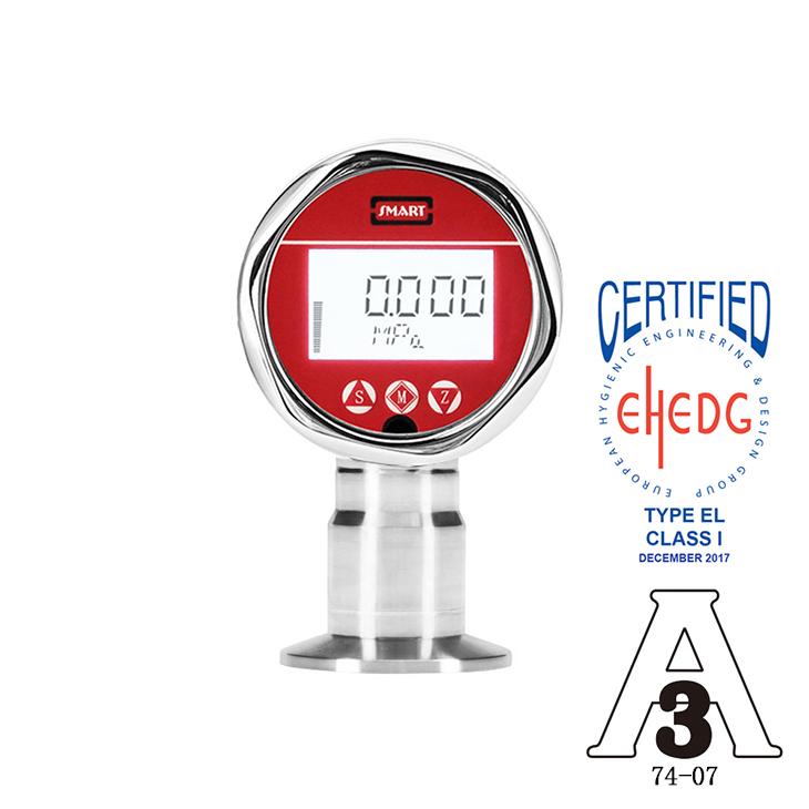LEEG立格仪表SMP858-TLF扩散硅卫生型压力变送器