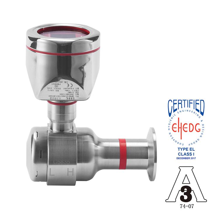 LEEG立格仪表SMP858-DSF单晶硅卫生型压力变送器