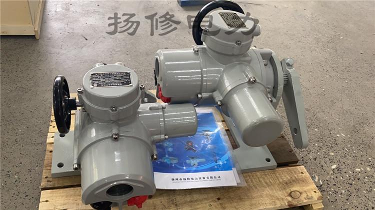 扬州扬修智能角行程电动执行器F-DJW120