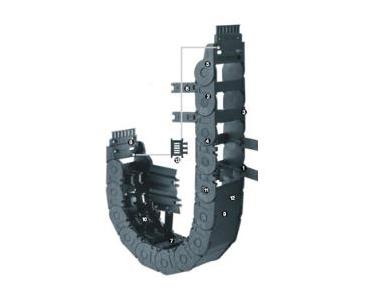 易格斯 E2/000中型拖链-2700系列