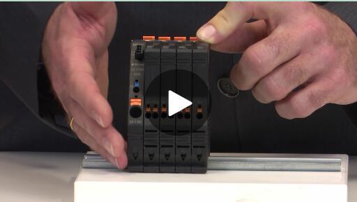 带监测功能且适用于24 V电路的电路保护装置