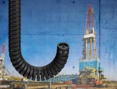 提高深钻井设备的安全性:新型的igus拖链取代灌胶套管