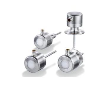 易福门支持自检的智能温度传感器,故障、漂移等能自动发光报警