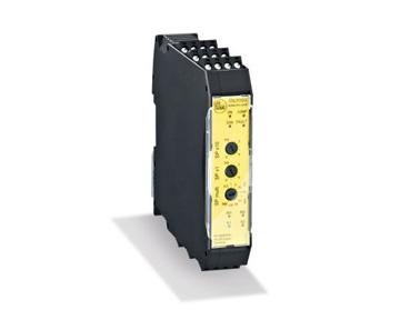 安全速度监控器使用标准传感器作为采样器