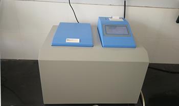 化验生物质颗粒热值仪_检测木屑燃料热量仪