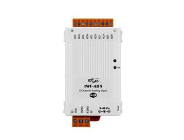泓格5-通道模拟量输入模块新产品上市: tWF-AD5