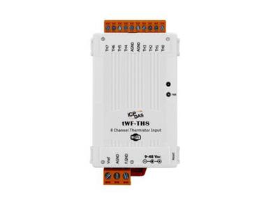 泓格8通道热敏电阻输入模块新产品上市: tWF-TH8