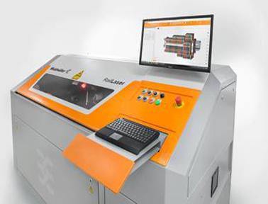 超高效的接线端子条标识解决方案——魏德米勒Klippon 自动激光机标识机可实现全自动标识