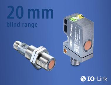 进无止境:U500/UR18——市场上盲区最小但感应距离很长的超声波传感器