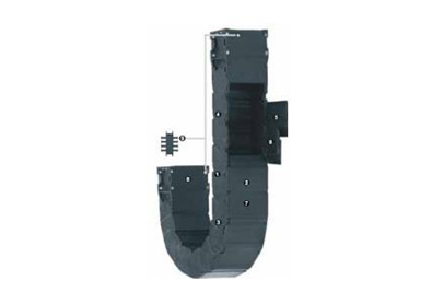 R167系列拖管,可沿内径方向从两侧快速打开