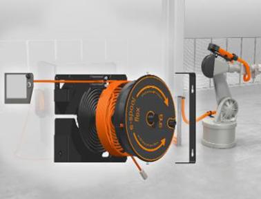 e-spool flex:无需滑环,从头到尾引导电缆