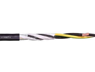chainflex 高柔性电动机电缆CFROBOT6