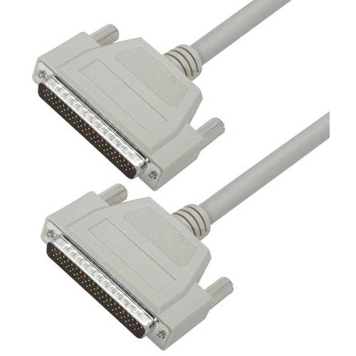 L-com诺通优良型D-Sub模制线缆,HD62公头/公头,5.0ft/1.5m