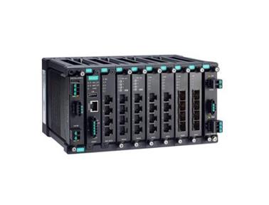 Moxa MDS-G4028 系列全千兆模块化网管型工业以太网交换机