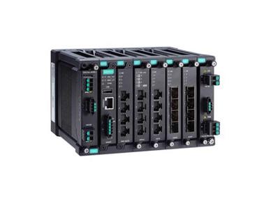 Moxa MDS-G4020 系列全千兆模块化网管型工业以太网交换机