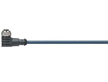 易格斯 chainflex 高柔性连接电缆,弯角M12 x 1,CF.INI CF9