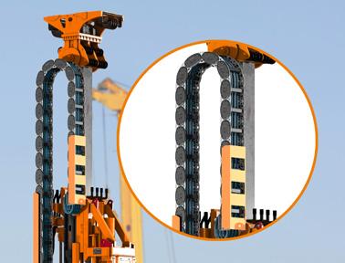 igus混合拖链YE系列:重量减轻50%,架空长度增加50%