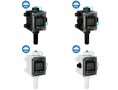 泓格LED显示型远程温度湿度数据记录模块新品上市:DL-100S-E, DL-100S-E-W, DL-101S-E, DL-101S-E-W