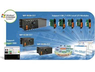 泓格内建Win-GRAF 控制器WP-9X28-CE7上市