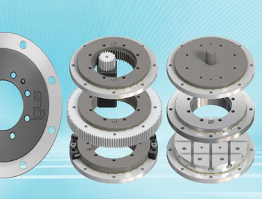 紧凑旋转:igus新增16毫米回转环轴承