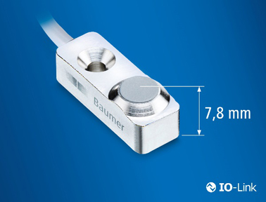 堡盟IF08测量范围为3mm的微型电感式传感器