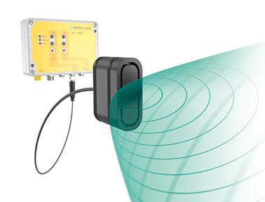 符合 Category 3 PL d 标准的 USi-safety® 超声波传感器系统