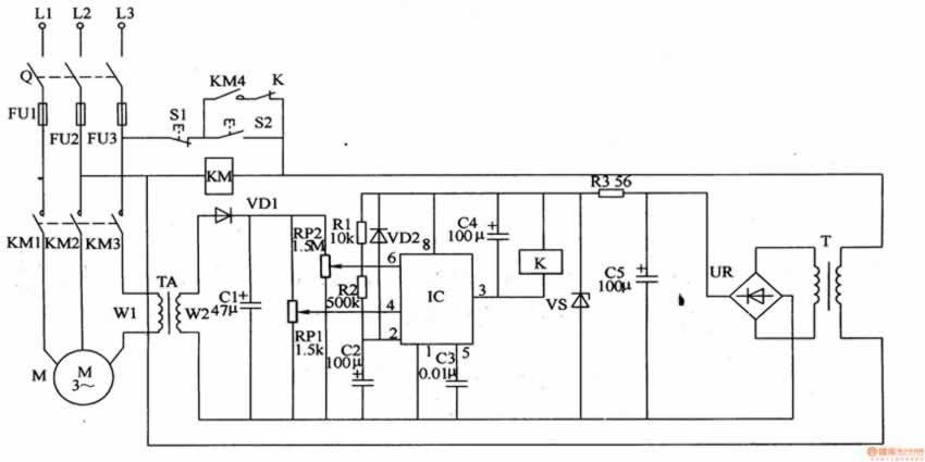 ne555金属检测电路图