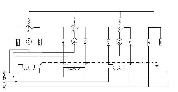 智能电表接线图