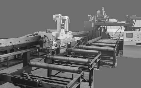 t-cpu在钢结构数控钻床中的应用