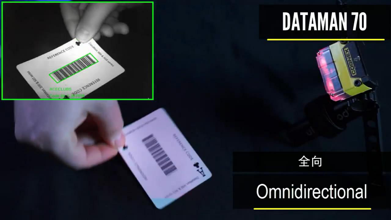 康耐视DataMan70高读码率演示