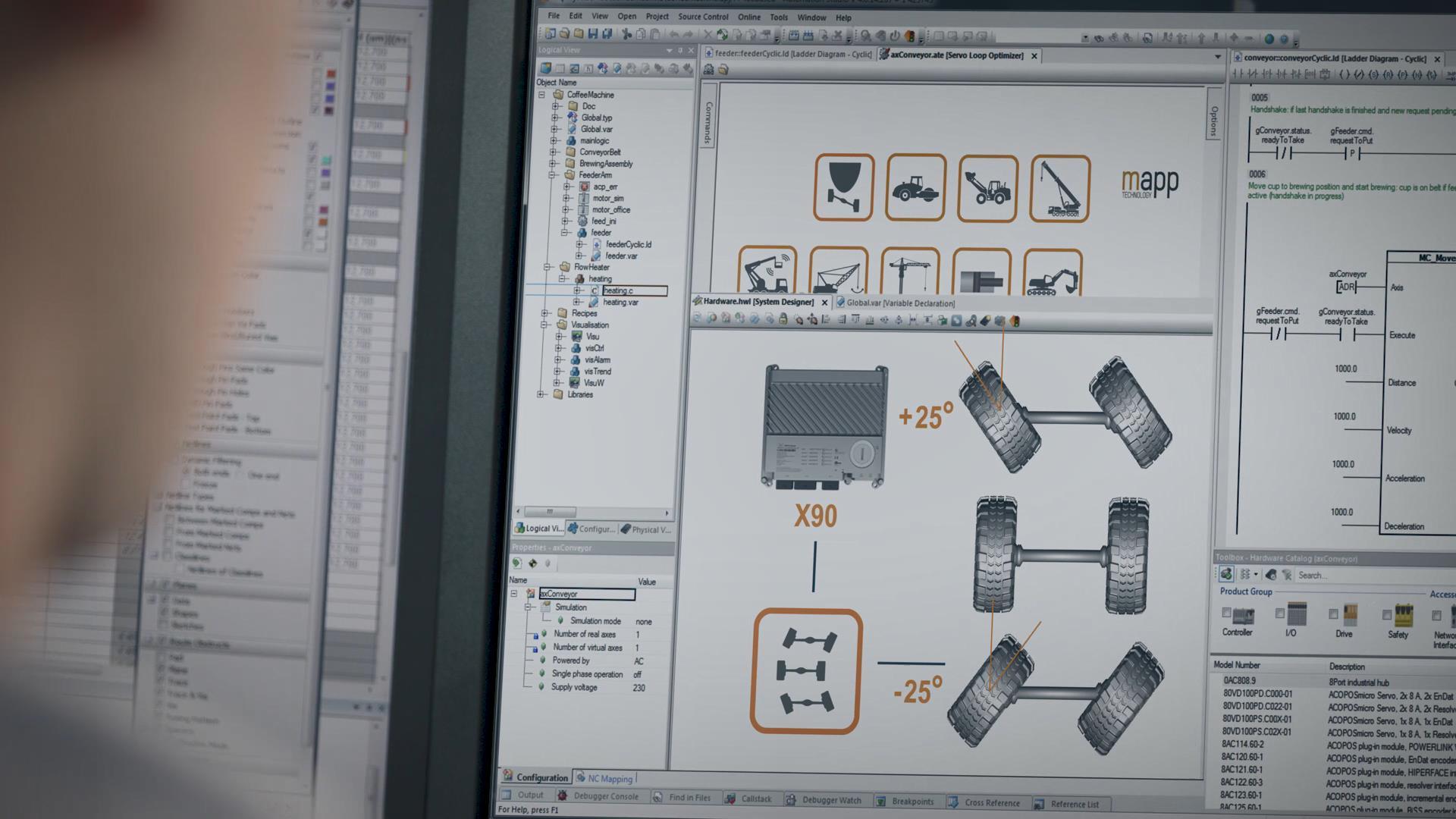 贝加莱X90移动CPU系统