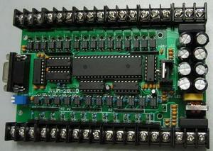 直接用三菱梯形图软件编程的国产单板PLC(JMDM-PLC28MT)